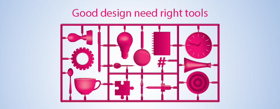 Good design need right tool - simpliza advertising campaign 2015