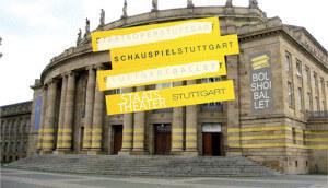 Staats Theater Stuttgart rendering presentazione logo