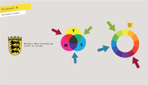StaatsTheater Stuttgart logo analisi cromatica