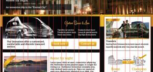 Gustavo Ciucci & Son - website grid system