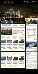 Gustavo Ciucci & Son - website mockup