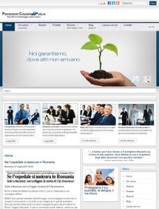 Sito web Piacquadio Cauzioni Puglia