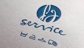 Logo fgservice lavaggio industriale roma