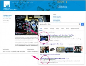 Inserire video del proprio canale Youtube sul sito web può avere grandi vantaggi dal punto di vista seo. L'esempio del sito di VIT S.r.l.