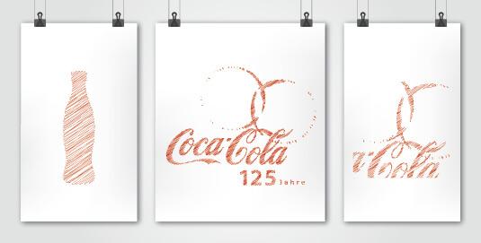 Coca Cola Presentazione logo per i 125 anni