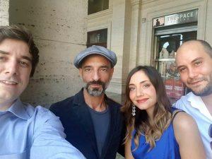 Con Riccardo De Filippis alla prima del film Rabbia Furiosa di Sergio Stivaletti
